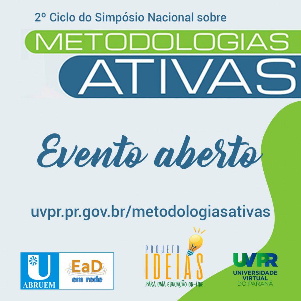 Simpósio Nacional sobre Metodologias Ativas