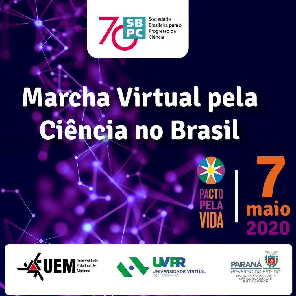 Marcha Virtual pela Ciência
