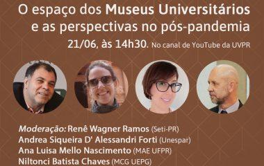 Painel virtual destaca museus universitários