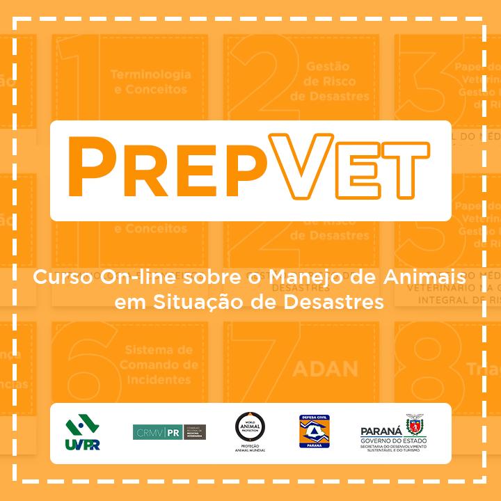 PrepVet – Manejo de Animais em Situação de Desastres